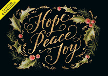 Hope & Joy Holiday Cards